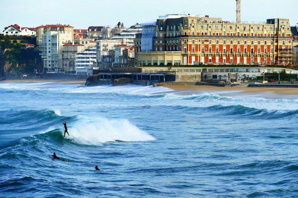 surf en france biarritz